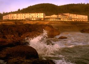 Exterior view of Adobe Resort.
