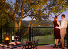 Couple at Omni Barton Creek Resort & Spa.