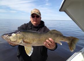 Fishing at River Bend Resort.