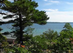 Resort with a view Chimney Corners Resort.