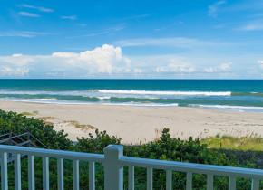 Beach view at Tuckaway Shores Resort.