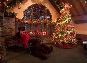 Christmas time at The Inn at Pocono Manor.