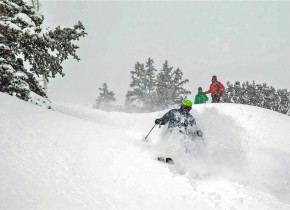 Skiing at Canyon Services Vacation Rentals.