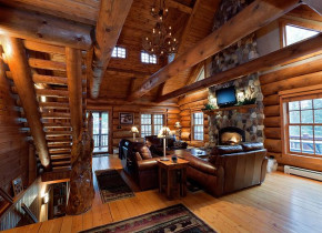 Living Room/Great Room at the Island View Lodge - The Conger Collection