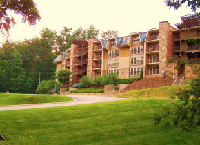 Exterior view of The Residences at Biltmore.