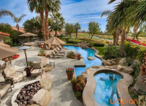 Rental pool at Utopian Palm Springs Vacation Homes.