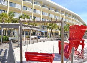 Hotel exterior at Boardwalk Beach Resort Hotel & Convention Center.