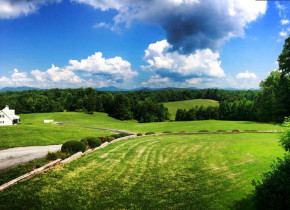 View from Dahlonega Spa Resort.