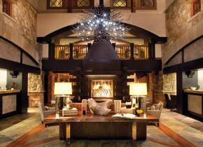 Lobby view at The Sebastian Vail.