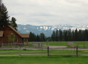 Rental exterior at Glacier Park Vacation Rentals.