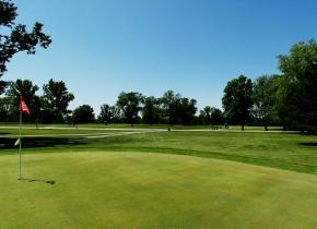 Golf course at Coachman's Golf Resort.