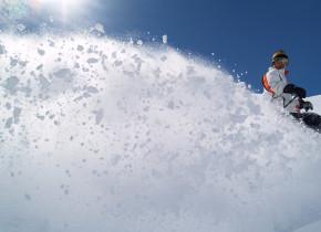 Skiing at Split Rock Resort & Golf Club.