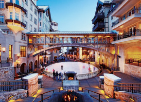 Exterior view of The Arrabelle at Vail Square, A RockResort.