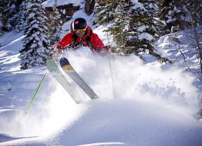 Skiing at Manor Vail Lodge.