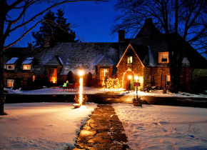 Winter time at The French Manor Inn and Spa.