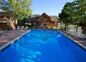 Outdoor pool at Ram's Horn Village Resort.