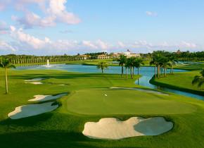 Golf course at Trump National Doral Miami.