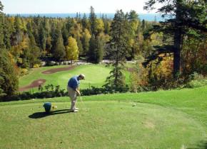 Golf course at Grand Marais Hotel Company.