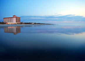 Exterior view of One Ocean Resort & Spa.