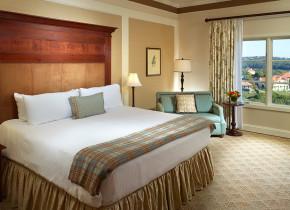 Guest room at Omni Barton Creek Resort & Spa.