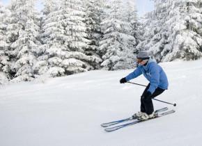 Skiing at Sisters Vacation Rentals.