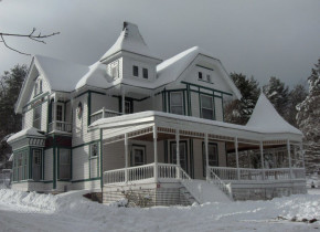 Winter time at Antique Rose Inn Windham.