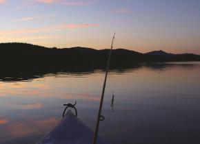 Fishing at Stoweflake Mountain Resort & Spa.