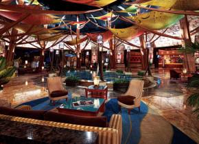 Lounge view at Mohegan Sun.