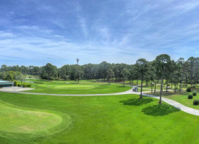 Golf course at Jekyll Island Club Hotel.