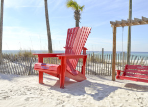 Enjoy a day at the beach with Boardwalk Beach Resort Hotel & Convention Center