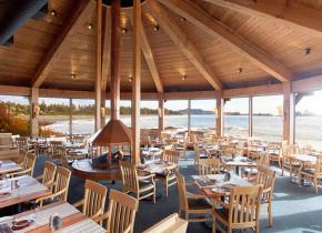 Dining area at Wickaninnish Inn.