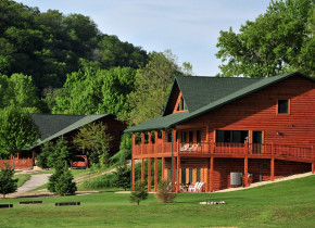 Exterior view of Cedar Valley Resort.