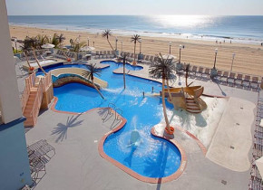 Outdoor Activity Pool at Holiday Inn Suites Ocean City.