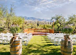 Cactus View Wedding Venue at Tanque Verde Ranch