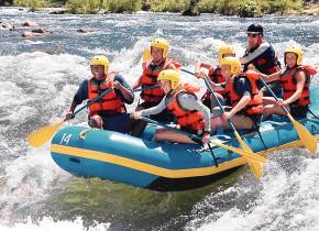 River rafting at Valhalla Resort & Vacation.