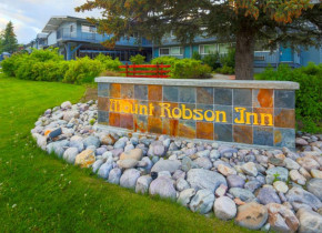 Mount Robson Inn sign.