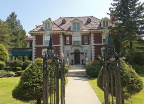 Exterior view of Cortland Alumni House.