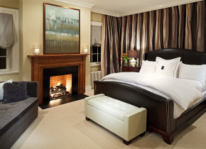 Guest room at The Inn at Willow Grove.