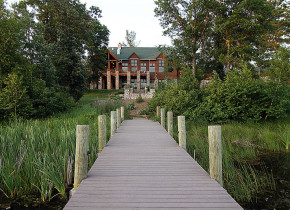 Exterior view of Heartwood Conference Center & Retreat.