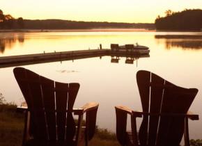 Lake view at Madden's on Gull Lake.