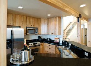 Vacation rental kitchen at Surfside on Lake Superior.