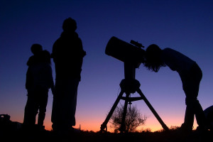 Stargazing at Pronghorn Resort.