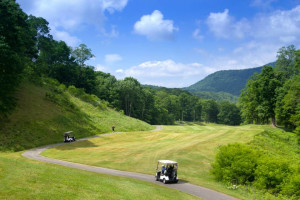 Golf near Snowshoe Properties Management.