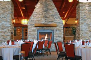 Lodge seating at Bear Creek Mountain Resort.