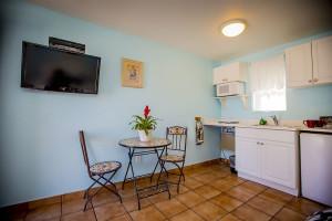 Guest room at Leucadia Beach Inn.
