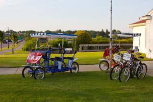 Bike rental at Weathervane Inn.
