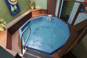Hot tub at Atlantic Oceanside Hotel & Conference Center.