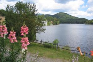 Mirror Lake at High Peaks Resort