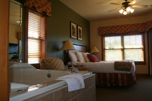 Guest room at Westgate Branson Woods.