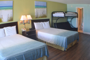 Guest Room at Boardwalk Beach Resort Hotel & Convention Center